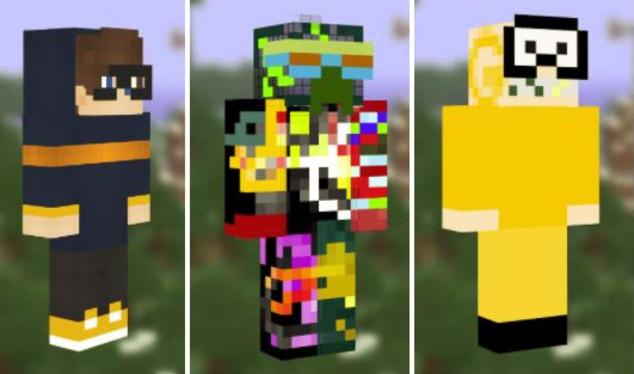 Minecraft Malware Skins