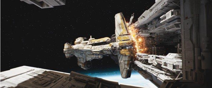 Star Wars Rogue One Hammerhead Ship