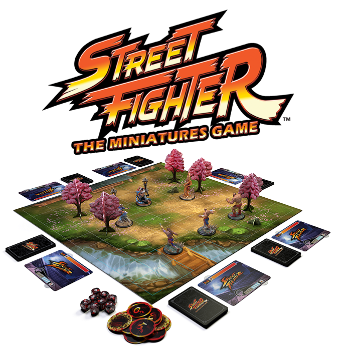 Street Fighter The Miniatures Game