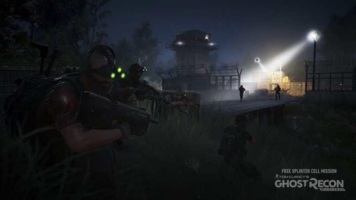 Tom Clancy's Ghost Recon Wildlands Free Splinter Cell Mission