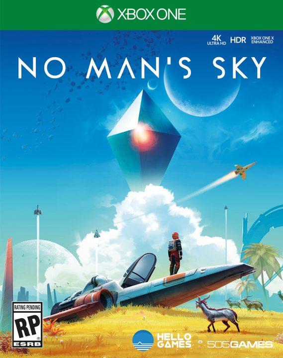 No Man's Sky Xbox Boxart