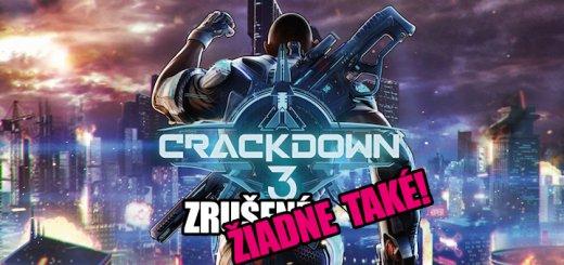 Crackdown 3 nebol zruseny