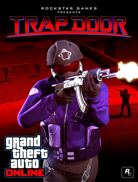 GTA Online Trap Door Battle Royale