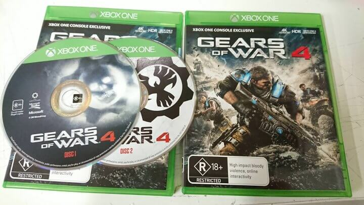 Gears of War 4 Two Discs