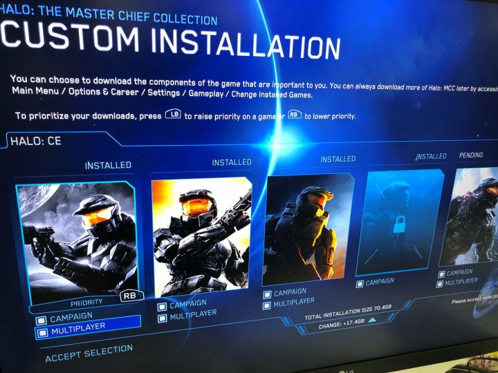 Halo MCC Custom Installation