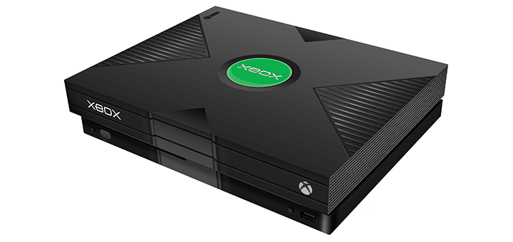 Original Xbox One X Decal