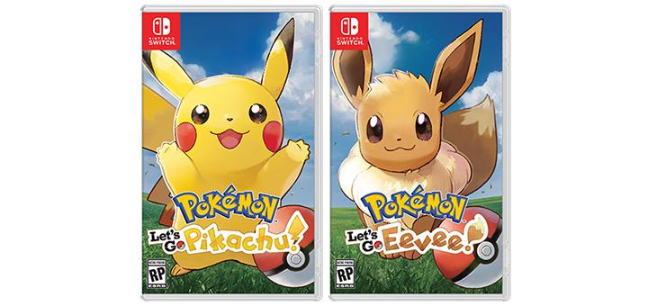 Pokémon Let's Go! Pikachu Let's Go! Eevee