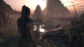 Hellblade Comparison High Resolution Mode