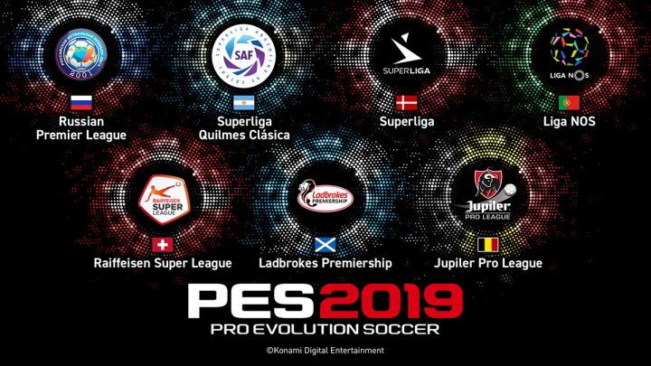 PES 2019 New Leagues
