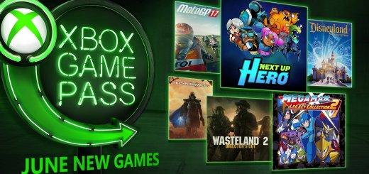 xbox game pass june 2k18