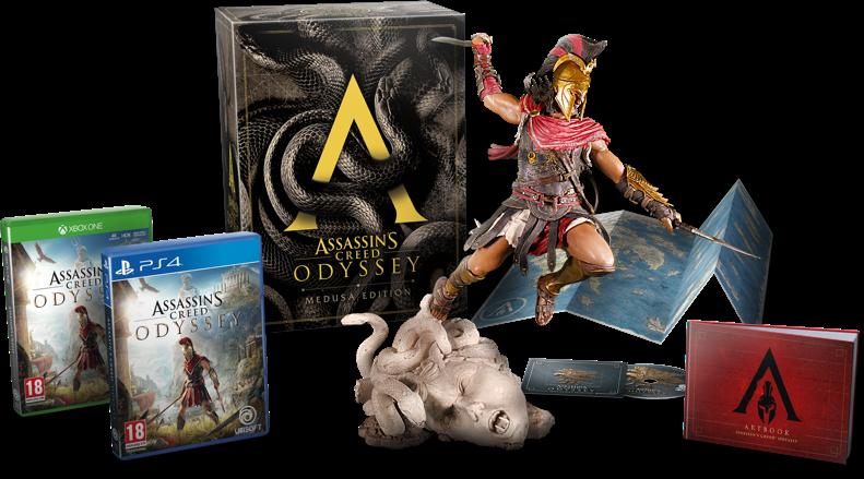 AC Odyssey Medusa Edition