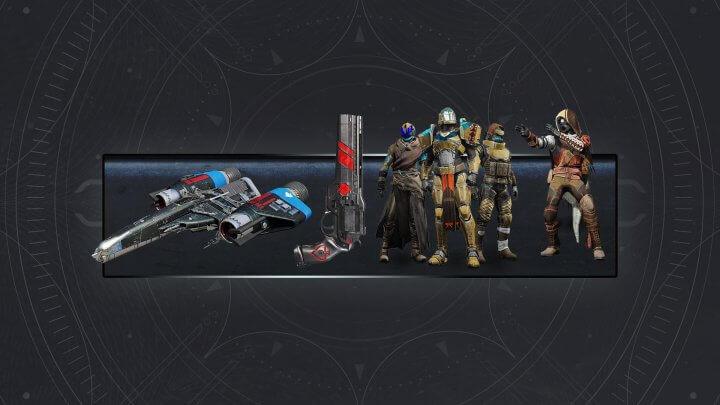 Destiny 2 Forsaken Cayde Exotic Stash Pre-order bonus