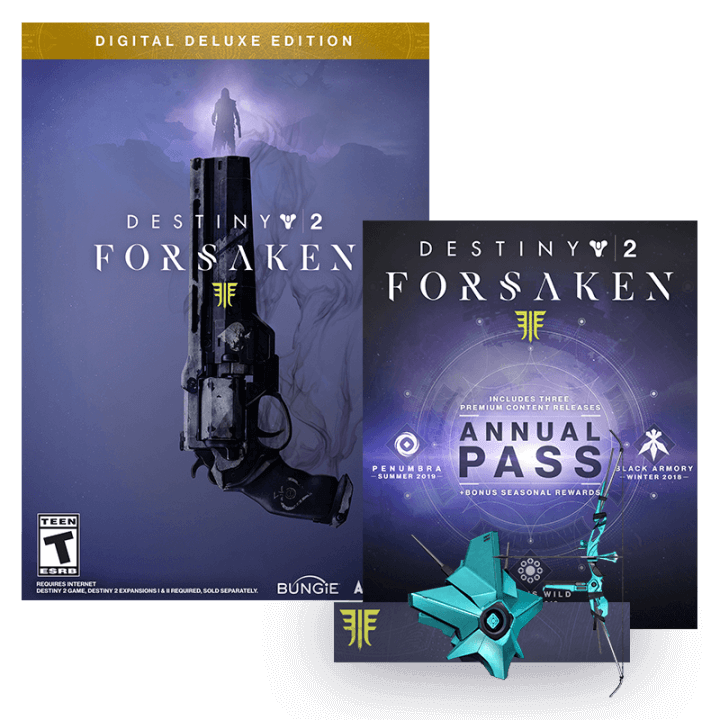 Destiny 2 Forsaken Digital Deluxe Edition