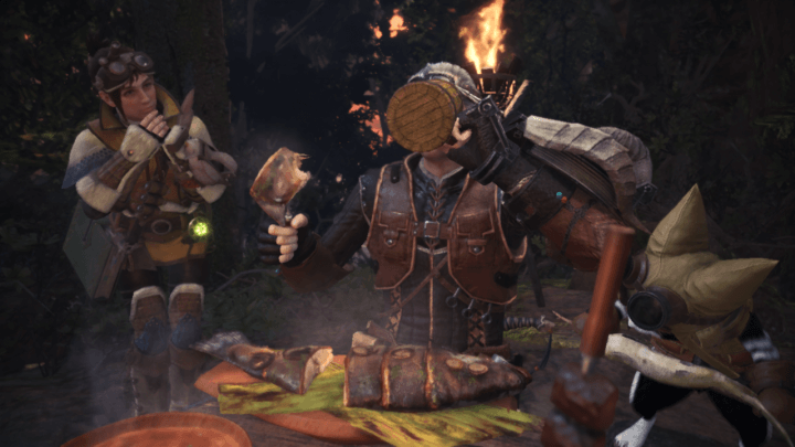 Monster Hunter World Eating
