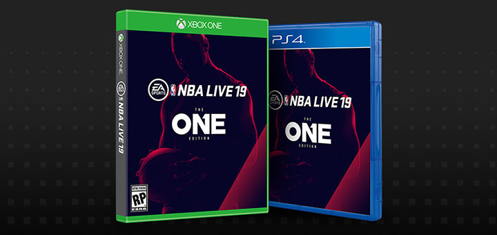 NBA Live 19 Boxart