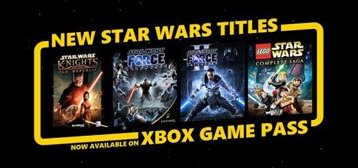 Xbox Game Pass Star Wars