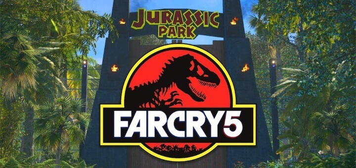 Far Cry 5 Jurský park