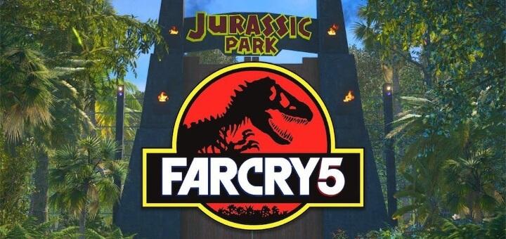 Far Cry 5 Jurský park