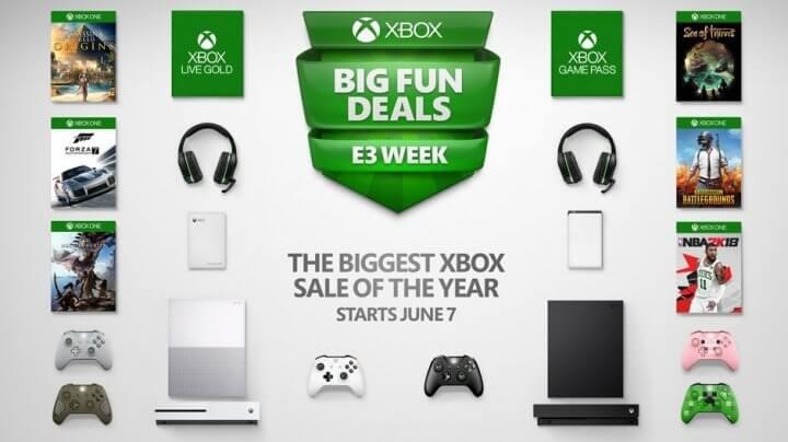Xbox E3 2018 Sale
