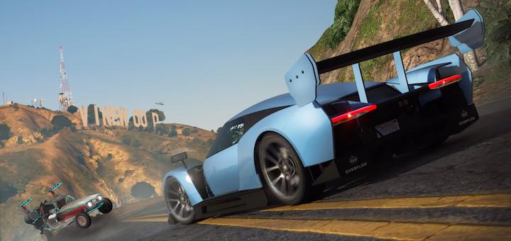 Forza Horizon 4 in GTA V