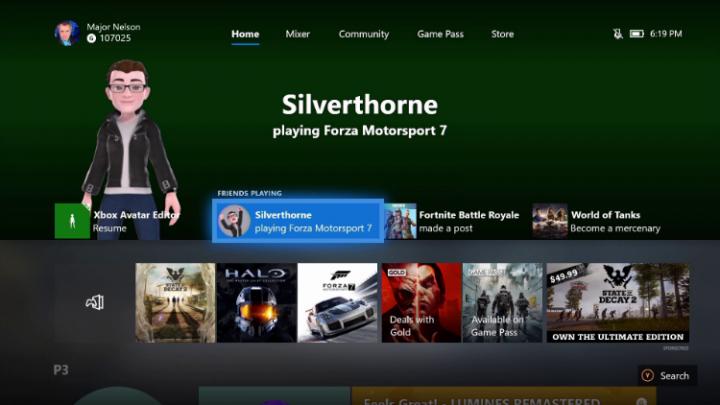 Xbox Insider Avatars Home July 2018