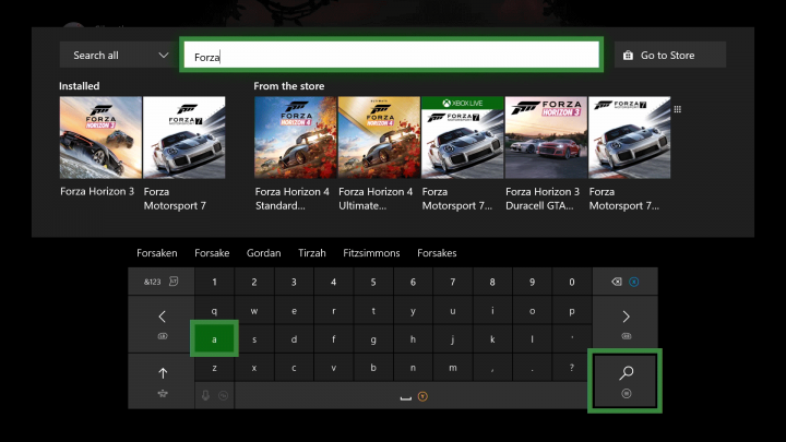Xbox July 2018 Search