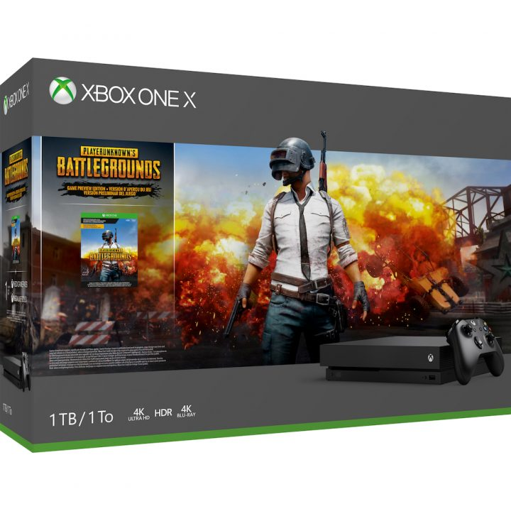 Xbox One X 1TB PUBG Bundle