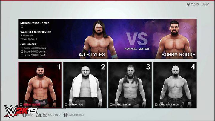 WWE 2K19 Towers Mode