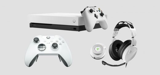 Xbox One X Robot White Accessories