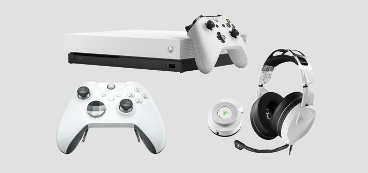 Xbox One X Robot White Accessories