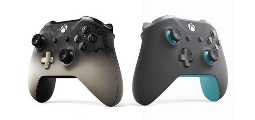 Xbox Wireless Controller Phantom Black Grey Blue
