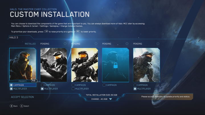 Halo The Master Chief Collection Intelligent Delivery