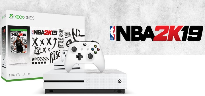 nba 2K19 xbox one s bundle