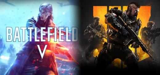 Battlefield V Call of Duty Black Ops 4