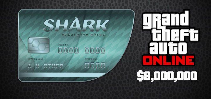 GTA Online Megalodon Shark Cash Card