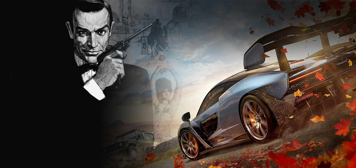 James Bond Forza Horizon 4