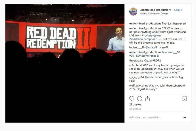 Red Dead Redemption 2 Gamestop Presentation