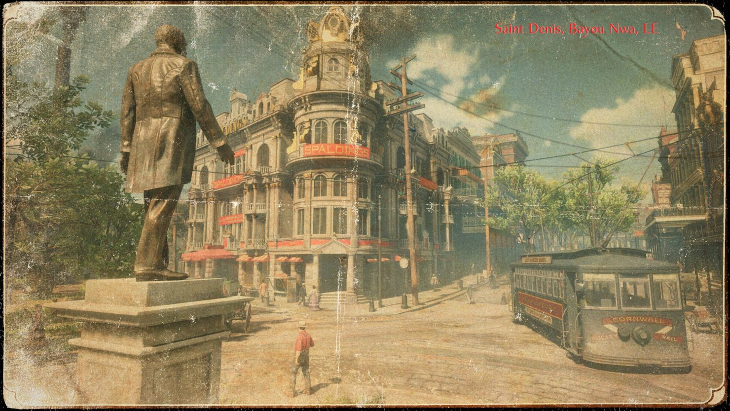Red Dead Redemption 2 Saint Denis