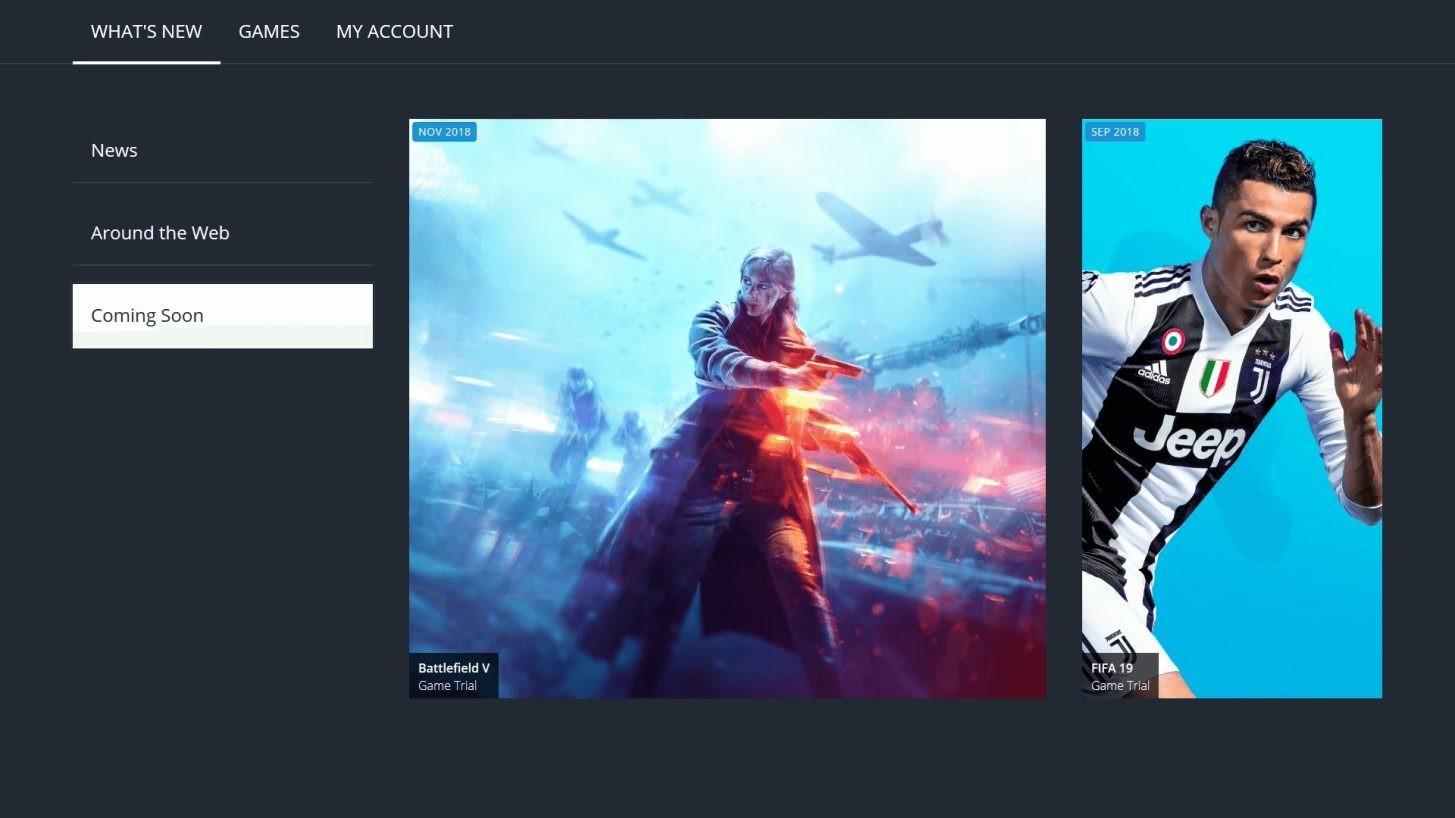 EA Access New App 2018
