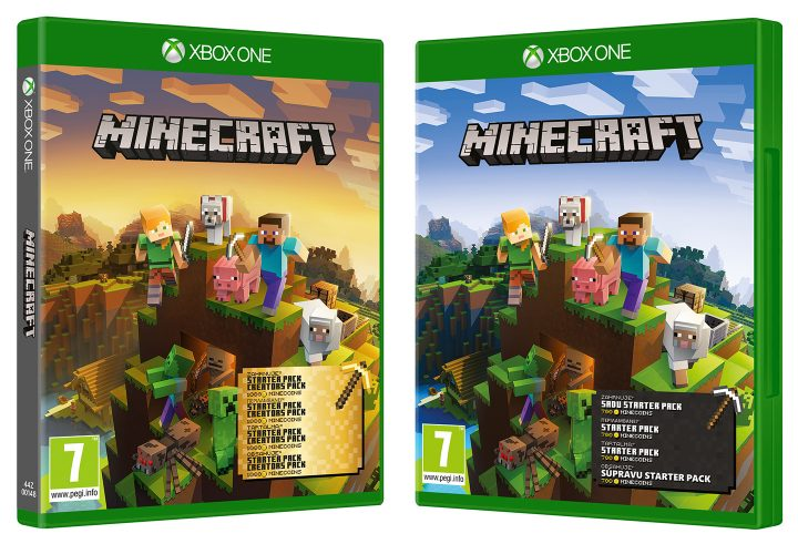 Minecraft Master Collection Starter Collection