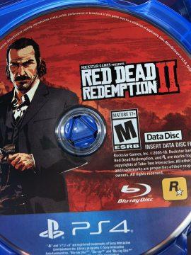 Red Dead Redemption 2 Data Disc