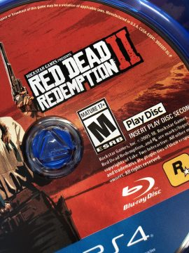 Red Dead Redemption 2 Play Disc