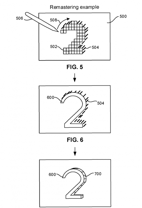Sony Texture Remaster Patent