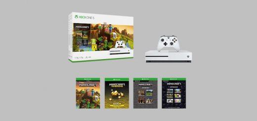 Xbox One S Minecraft Starter Pack