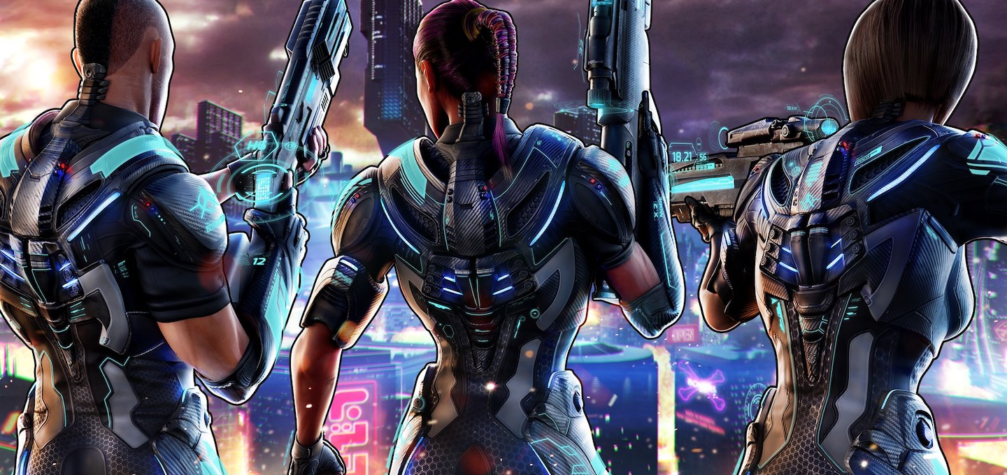 Crackdown 3 Wrecking Zone