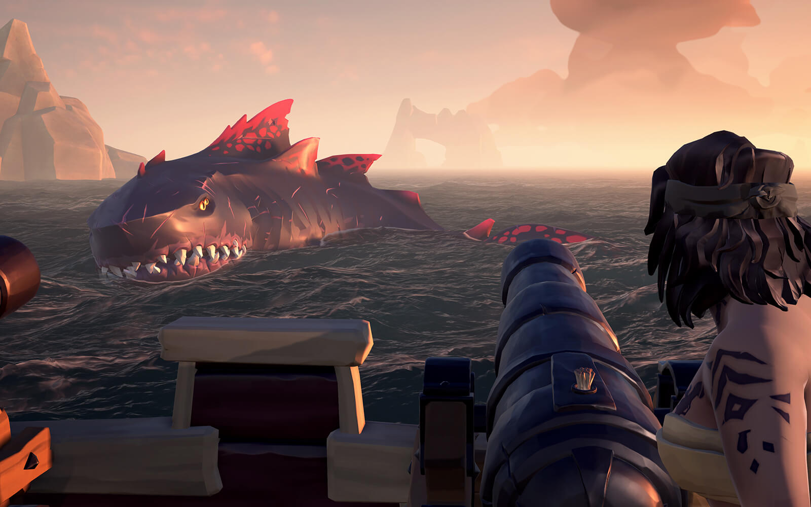 Sea of Thieves Megalodon Shrouded Spoils