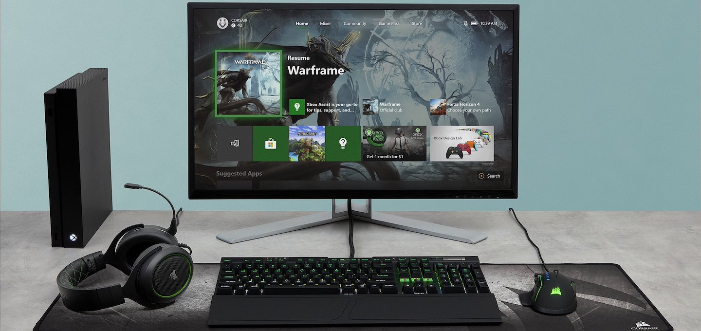 Xbox One X Keyboard Mouse