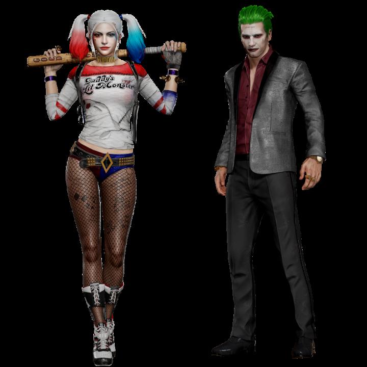 PUBG Harley Joker Outfit