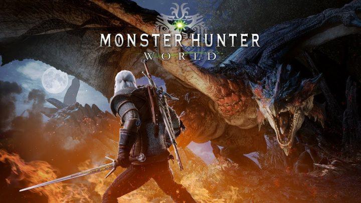 Monster Hunter World Witcher