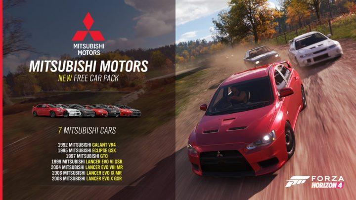 Forza Horizon 4 Mitsubishi Car Pack